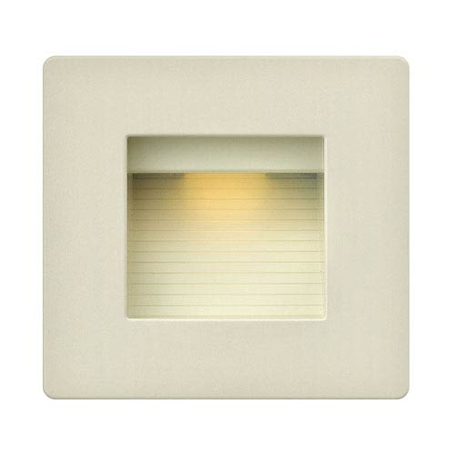 Luna Light Almond Line Voltage Square LED Landscape Deck Light