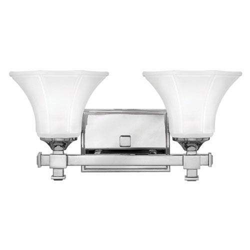 Abbie Chrome Two-Light Bath Light
