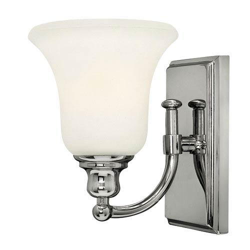 Hinkley Colette Chrome One-Light Bath Fixture