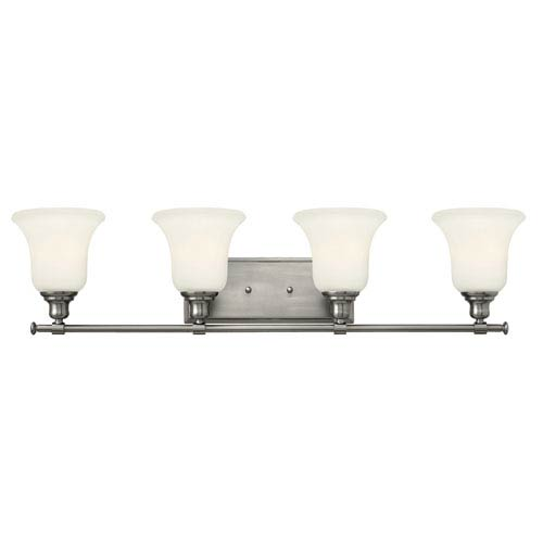 Hinkley Colette Brushed Nickel Four Light Bath Fixture