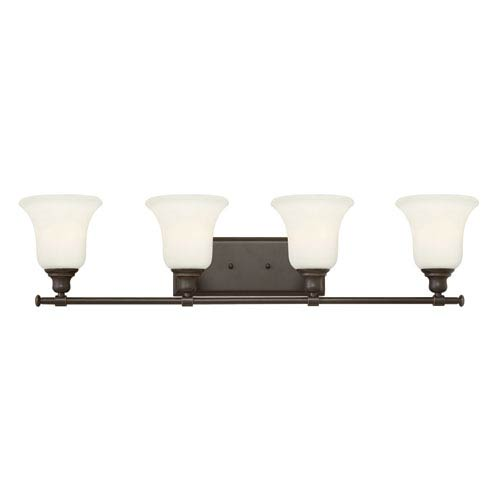 Hinkley Colette Oil Rubbed Bronze Four Light Bath Fixture