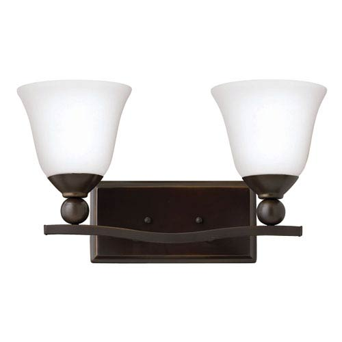 Hinkley Bolla Olde Bronze Two Light Bath Fixture