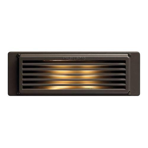 Bronze Line Voltage 10-Inch LED Landscape Deck Light