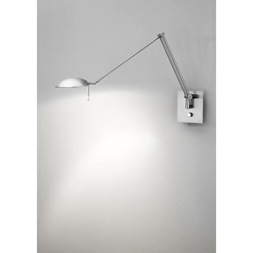Bernie Satin Nickel One-Light Wall Sconce