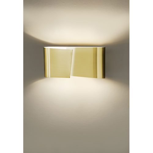 Filia Series Brushed Brass Wall Sconce
