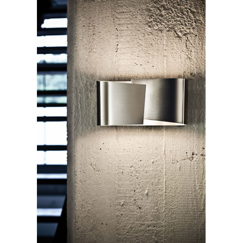 Holtkotter Filia Series Stainless Steel Wall Sconce