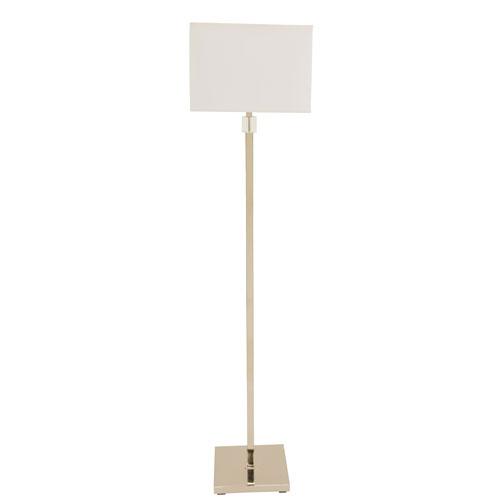 Somerset Polished Nickel 60-Inch One-Light Floor Lamp