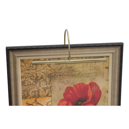 House Of Troy Advent Antique Brass Two LED 16-Inch Picture Light