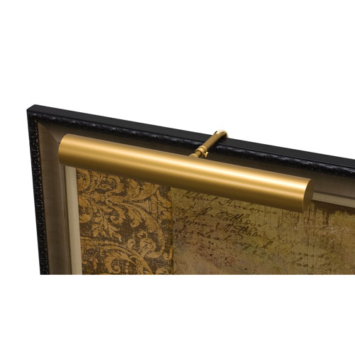 Classic Contemporary Gold Two-Light  Picture Light