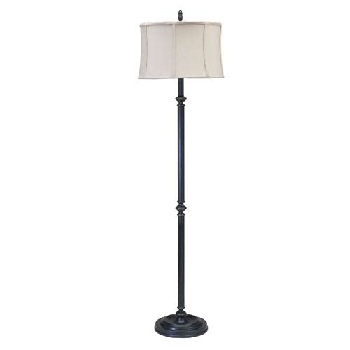 House Of Troy Coach Oil Rubbed Bronze 61-Inch One-Light Floor Lamp