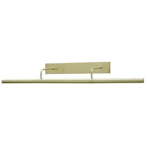 Direct Wire Slim-line 36-Inch Satin Brass Picture Light