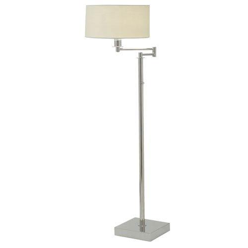 Franklin Polished Nickel One-Light  Floor Lamp