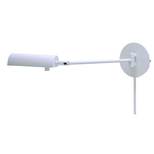 Generation White One-Light Wall Arm Swing
