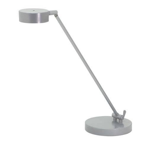 Generation Platinum Gray 11-Inch LED Table Lamp