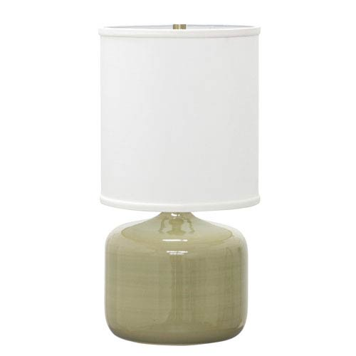 Scatchard Celadon 19.5-Inch One-Light Table Lamp