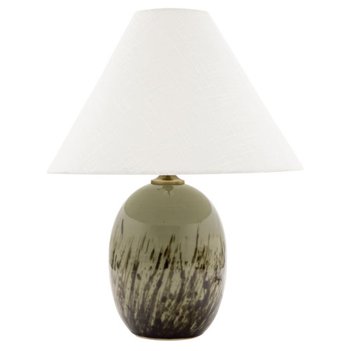 House Of Troy Scatchard Decorated Celadon 23 Inch One Light Table Lamp