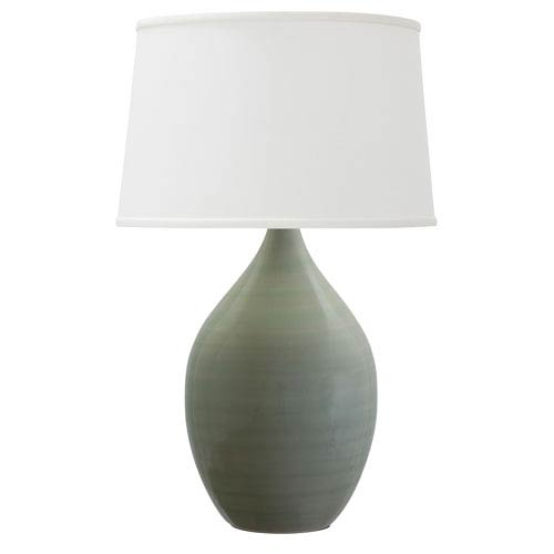 House Of Troy Scatchard Celadon 18.5-Inch One-Light Table Lamp