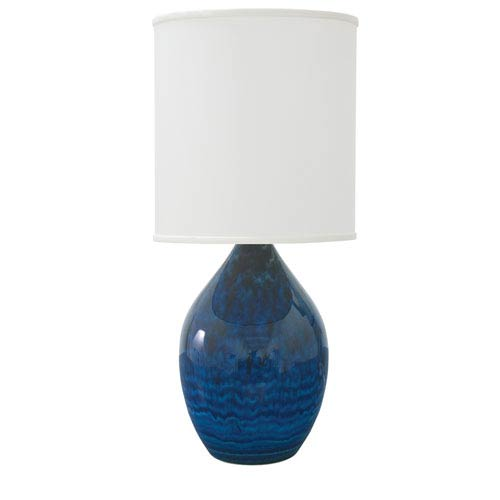 Scatchard Midnight Blue 30-Inch One-Light Table Lamp