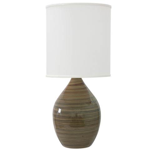 Scatchard Tigers Eye 30-Inch One-Light Table Lamp