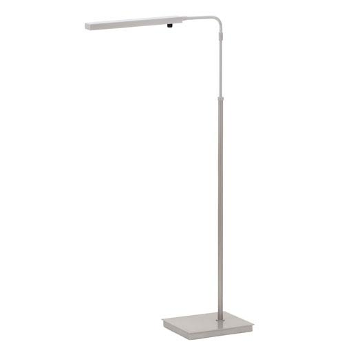 House Of Troy Horizon Task Platinum Gray LED Floor Lamp