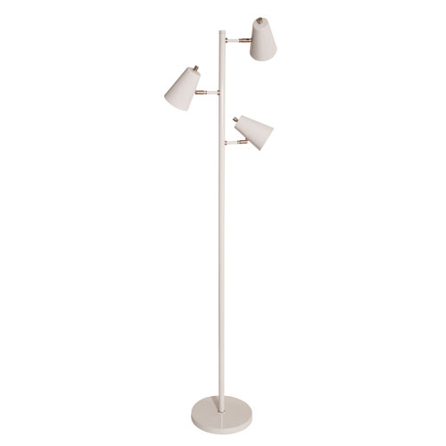 House Of Troy Kirby Gray LED Floor Lamp