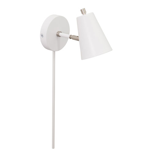 House Of Troy Kirby White LED Wall Lamp