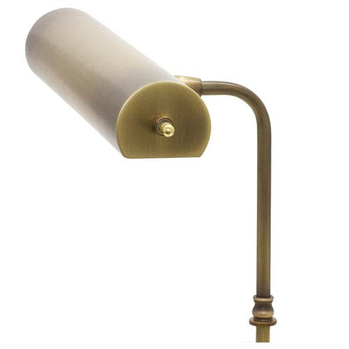Task Antique Brass 12-Inch LED Lectern Lamp