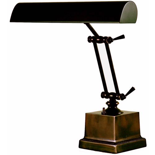 House Of Troy Mahogany Bronze 14 Inch Adjustable Desk/Piano Lamp