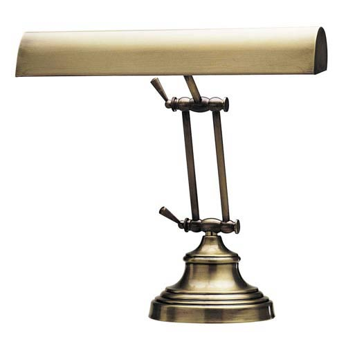 14-Inch Antique Brass Piano/Desk Lamp - Traditional Desk Lamps, Brass Desk Lamps & Piano Lamps Bellacor