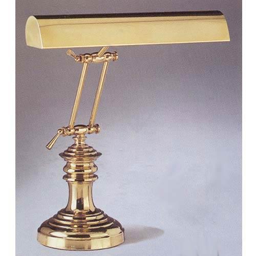 Brass Round Piano Lamp