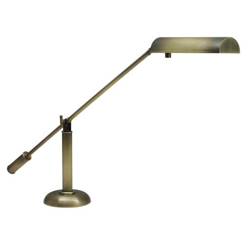 Grand Piano Antique Brass 10-Inch One-Light Piano or Desk Lamp
