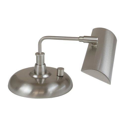 House Of Troy Zenith Satin Nickel 12-Inch LED Piano Lamp