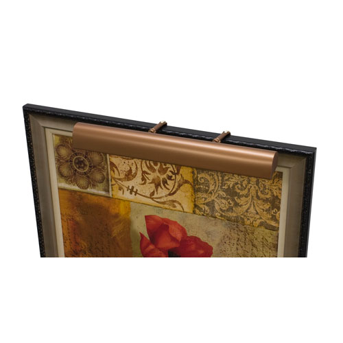 Classic Traditional Bronze Three-Light  Picture Light
