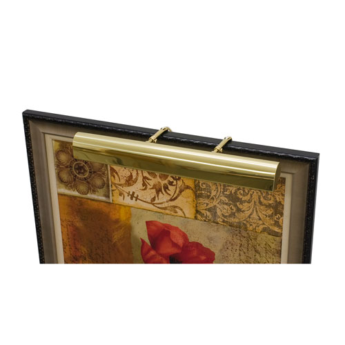 Classic Traditional Polished Brass One-Light LED Picture Light