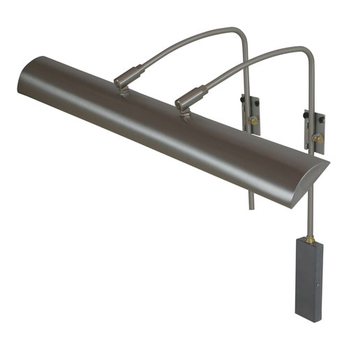House Of Troy Zenith Satin Nickel 24-Inch LED Picture Light Line Voltage