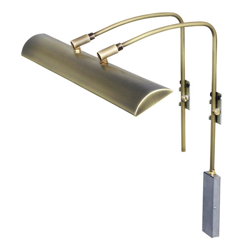 House Of Troy Zenith Antique Brass 24-Inch LED Picture Light Line Voltage