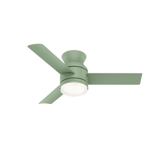 Dublin Dusty Green 44-Inch Two-Light LED Ceiling Fan