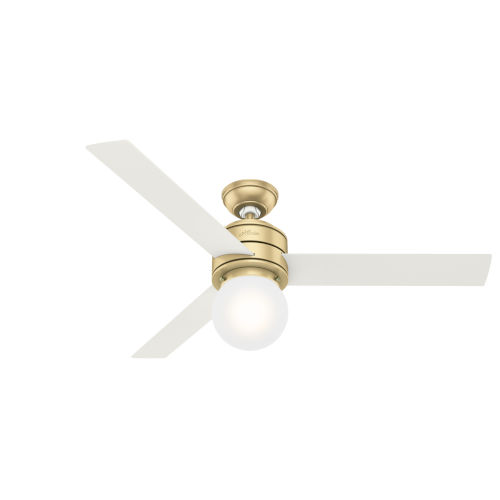 Allison Modern Brass 52-Inch LED Ceiling Fan