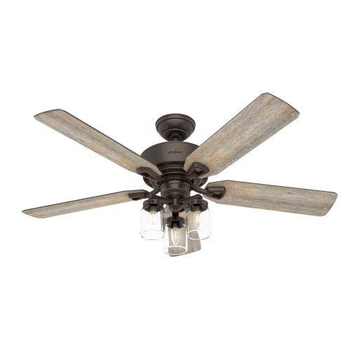 Devon Park Onyx Bengal 52-Inch LED Ceiling Fan