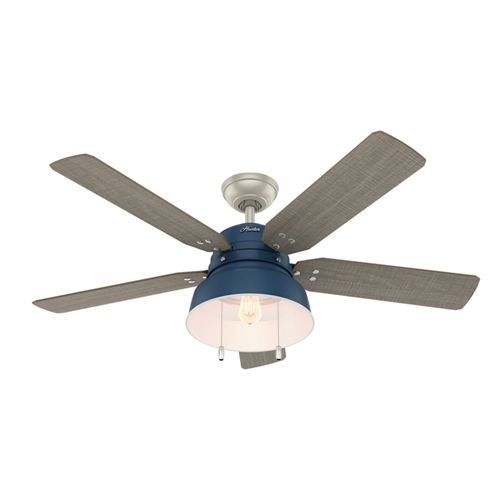 Mill Valley Indigo Blue 52-Inch LED Ceiling Fan