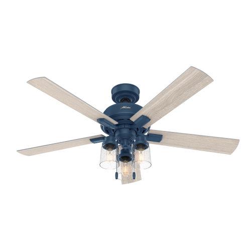 Hartland Indigo Blue 52-Inch LED Ceiling Fan