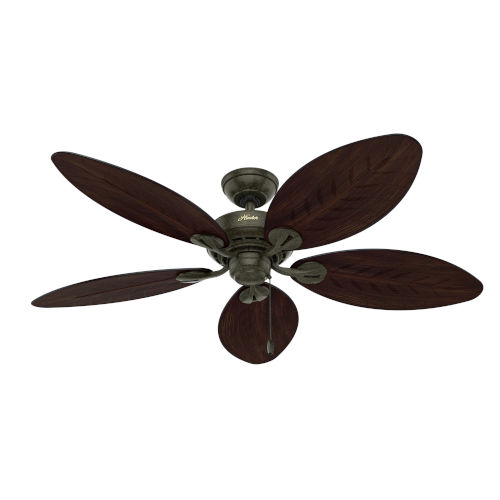 Bayview Provencal Gold 54-Inch Outdoor Ceiling Fan