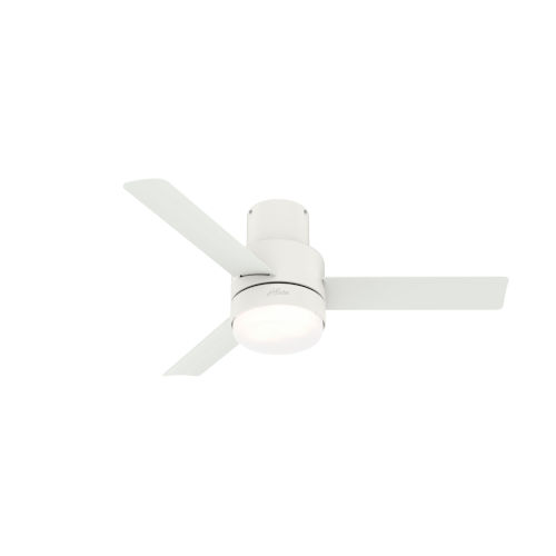 Gimour Matte White 44-Inch LED Ceiling Fan