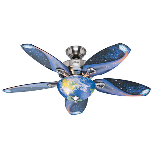 Discovery Brushed Nickel 48-Inch LED Ceiling Fan