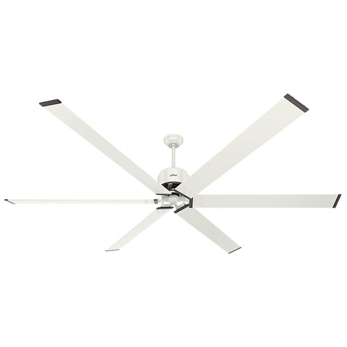 Hunter Fans HFC Fresh White 96-Inch Adjustable Ceiling Fan