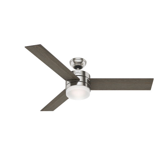 Exeter Brushed Nickel 54-Inch LED Ceiling Fan