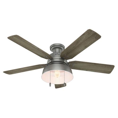 Mill Valley Matte Silver 52-Inch One-Light LED Ceiling Fan