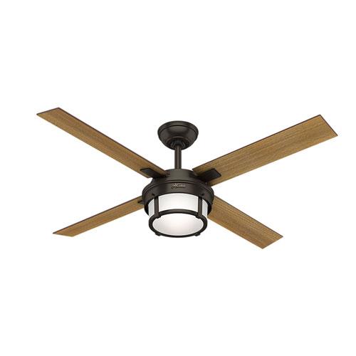 Hunter Fans Maybeck Premier Bronze 52-Inch One-Light LED Adjustable Ceiling Fan