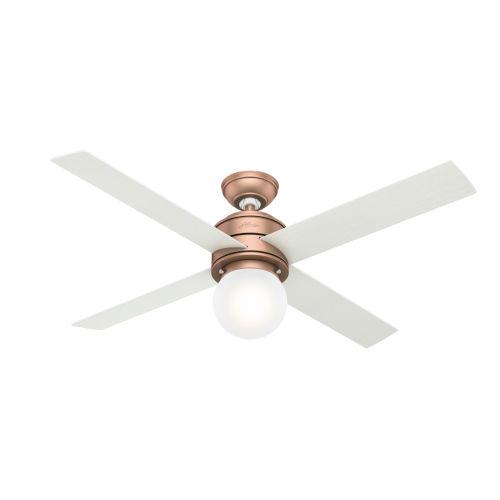 Hepburn Satin Copper 52-Inch LED Ceiling Fan