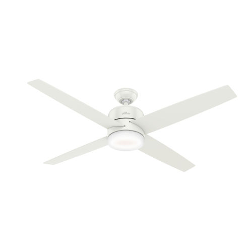 Advocate Fresh White 60-Inch DC Motor Smart LED Ceiling Fan